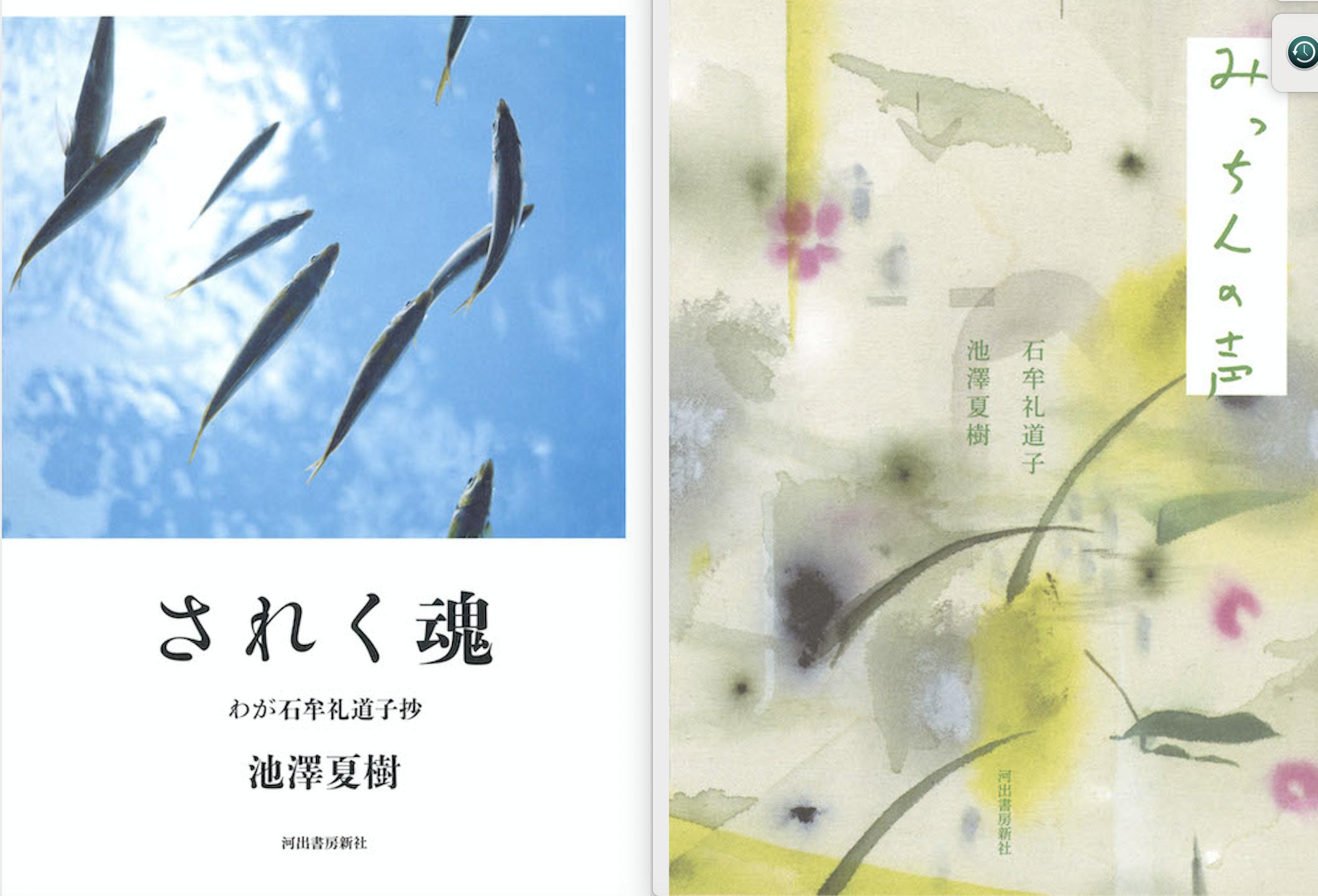 3年目の石牟礼道子追悼の2冊